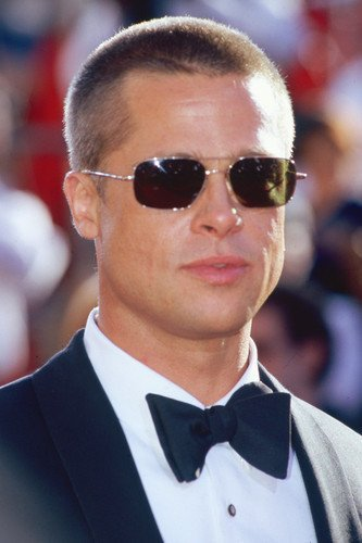 a28f1286caaa7 Brad Pitt 24x36 Poster in Tuxedo Candid Wearing Sunglasses at Amazon s  Entertainment Collectibles Store