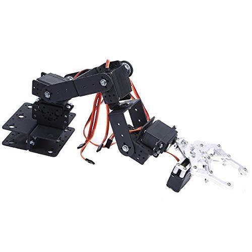 6 DOF 3D Rotating Mechanical Robot Arm Kit For Smart Car - Arduino Compatible SCM & DIY Kits Smart Robot & Solar Panel - (Bracket with Metal Helm + six DS3115 servos) - 1 x DIY 6 Digit LED Large by Unknown (Image #3)