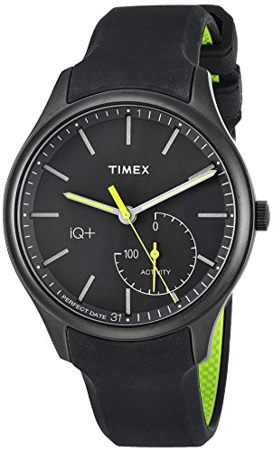 Best Timex Wearable Sleep Trackers - Timex Men's TW2P95100 IQ+ Move Activity