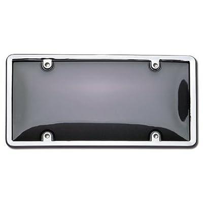 Cruiser Accessories 60320 Combo License Plate Shield/Cover, Chrome/Smoke: Automotive