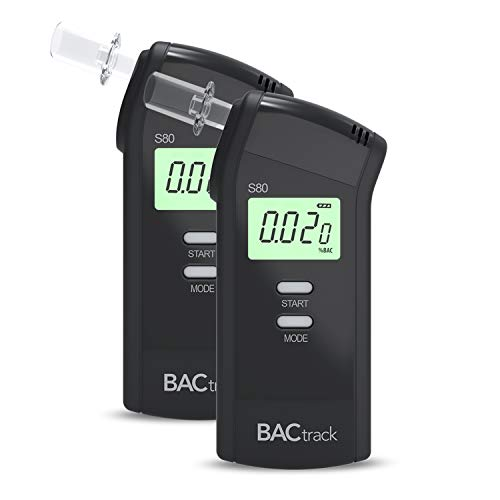 BACtrack S80 Breathalyzer (2 Pack) | Professional-Grade Accuracy | DOT & NHTSA Approved | FDA 510(k) Cleared | Portable Breath Alcohol Tester for Pers from BACtrack