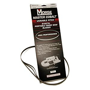 MK Morse ZWEP441014MC Master Cobalt Portable Band Saw, Bi-metal 44-7/8-Inch X 1/2-Inch X .020-Inch TPI 10/14, Pack of 3