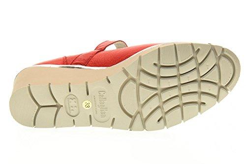 CALLAGHAN Frauen-Tänzer Schuhe Keil 10313 RED Rote