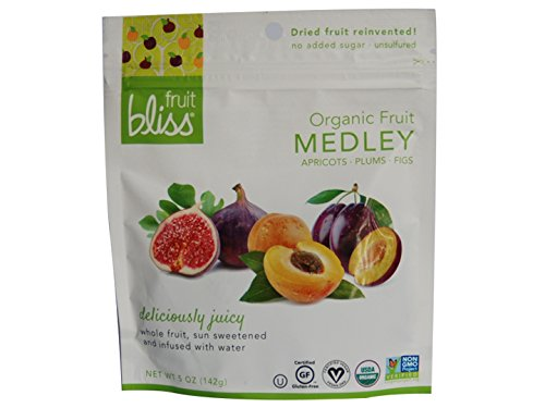 Organic Fruit Medley - Apricots, Plums & Figs - No added sugar - Unsulfured