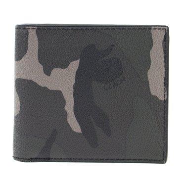 ece684dd9f2b 2015年秋冬新作 迷彩柄がクールな薄型二つ折り財布 コーチ COACH f75102 ...
