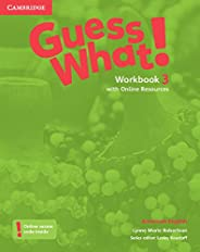 Guess What. 3 - Workbook With Online Resource - American English