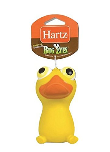 Hartz Bug Eyes Squeeze Dog Toy - 1 Random Toy