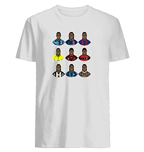 Ronaldinho Apparel - Ronaldinho T-shirt Fashionable Slim-Fit