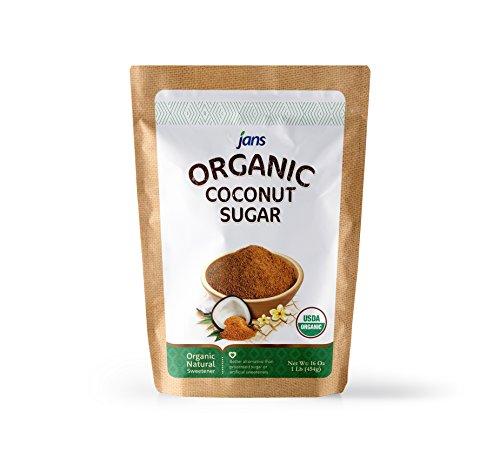 Jans Organic Coconut Sugar Ounces