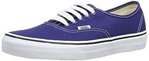 Vans Unisex Authentic Twilight Blue/True White Skate Shoe 11.5 Men US