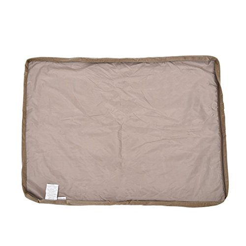 Dog Mattress Replacement Cover (Kimol Pet Cushion Cover Dog Removable Non-Slip Bed Replacement ( Color : Beige , Size : S ))