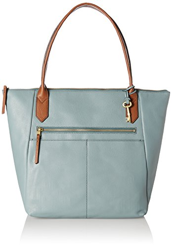 Fossil Fiona - Bolsos totes Mujer Azul (Steel Blue)