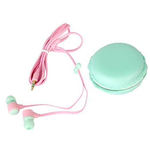 Green Ear Earphone Colorful Storage