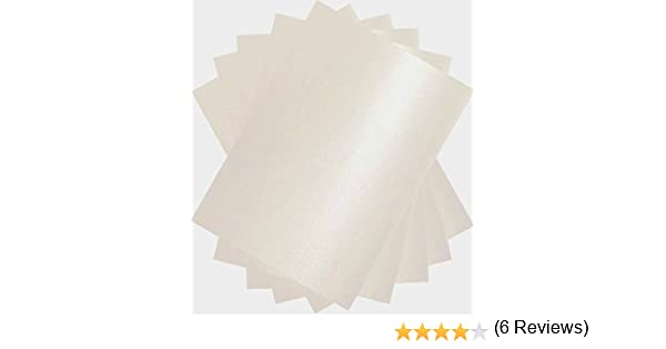 Blanco perla A4 x 100 hojas de cartulina doble cara Stella manualidades 250gsm