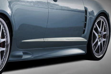 Upgrade Your Auto 1 3//4 Chrome Door Molding Trim for 2009-2012 Jaguar XF