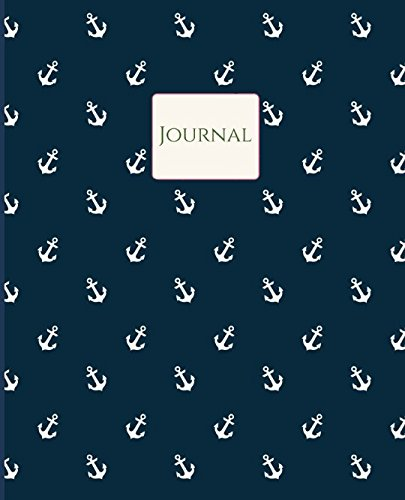 - Journal: Nautical Theme- Anchors- Large Notebook