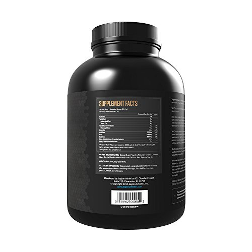 LEGION Whey+ Best Whey Protein Powder for Weight Loss