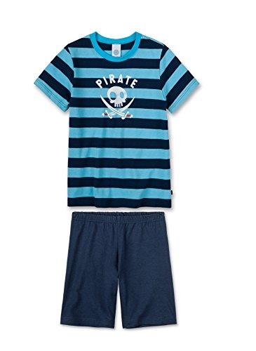 Sanetta Jungen Zweiteiliger Schlafanzug 231566, Blau (Classic Blue 5968), 116