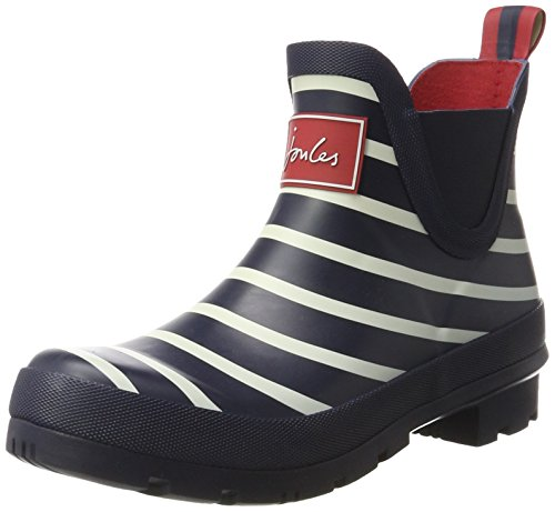 Women's Blue Ankle Boots Hope Joules Wellibob Navy Stripe French awqdIxR