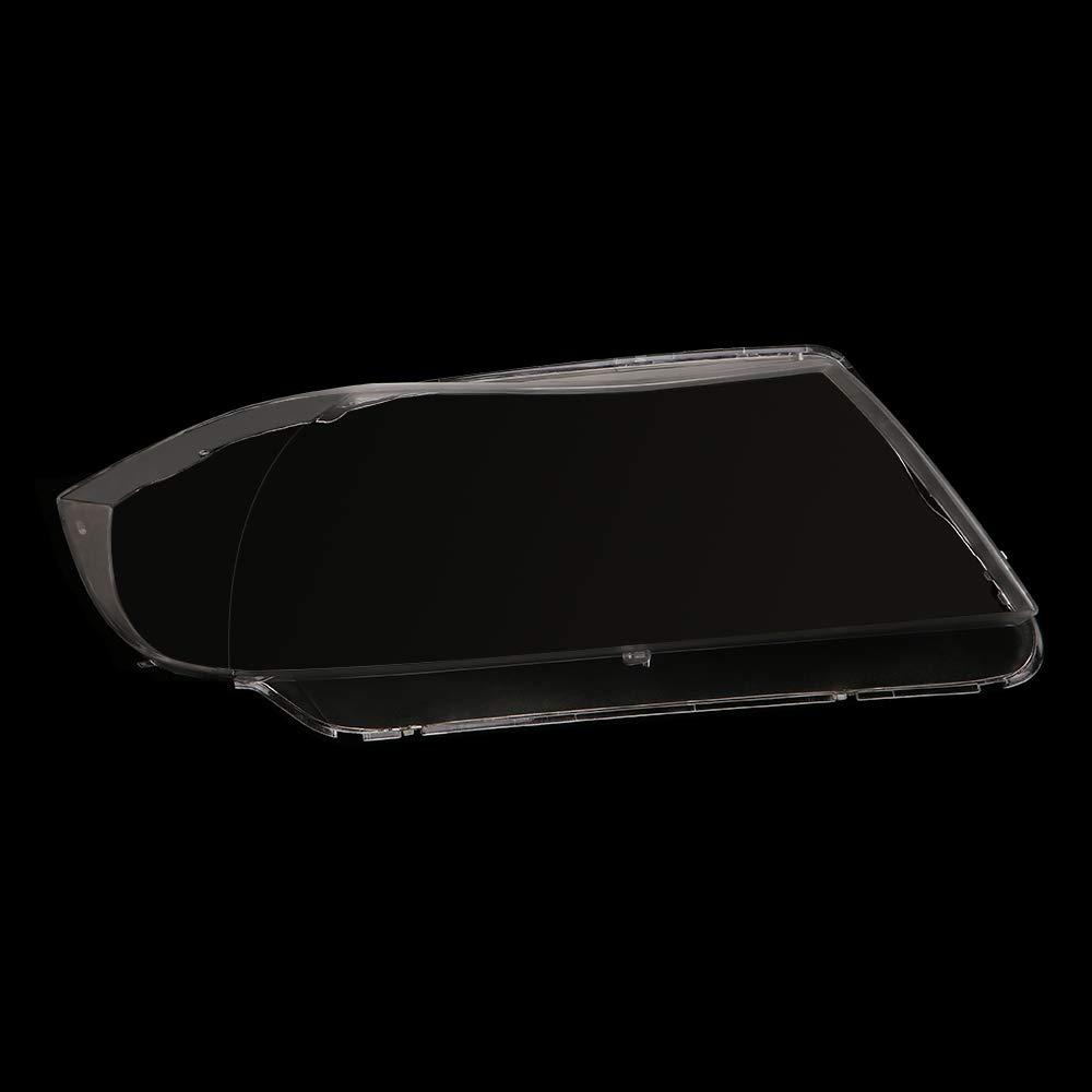 1 Paio per E90 // E91 2005-08 Guscio Anteriore in plastica KKmoon Copriobiettivo Lente Trasparente