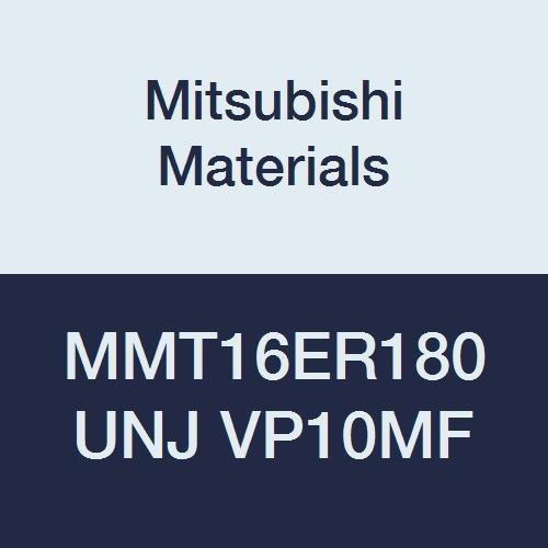 Grade VP10MF UNJ Type 1.8 mm Pitch Pack of 5 Right Mitsubishi Materials MMT16ER180UNJ VP10MF Coated Carbide G-Class External Ground Threading Insert 9.525 mm IC