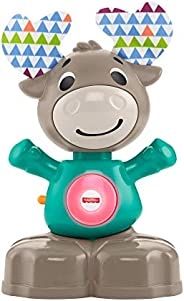 Fisher-Price Linkimals Musical Moose - Interactive Educational Toy with Music and Lights for Baby Ages 9 Month
