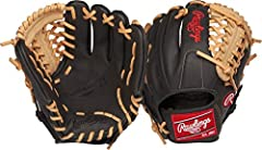 Show some personality on the field with the Rawlings gamer xle Baseball glove. Featuring a brightly colored full-grain leather shell, this soft Baseball glove with Pro-Style features is designed to maximize Defensive performance. This 11-1/2-...