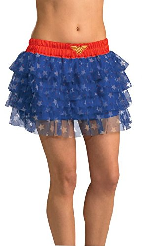 Rubie's DC Comics Superhero Style Skirt With Sequins, Multicolor, One Size Costume ()