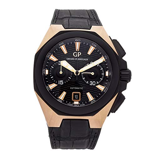 Girard-Perregaux Chrono Hawk Mechanical (Automatic) Black Dial Mens Watch 49970-34-633-BB6B (Certified Pre-Owned)