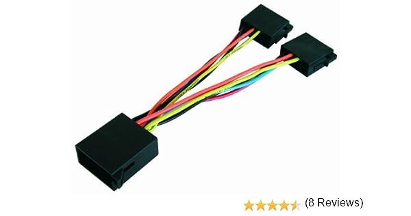 Phonocar 4//641 normal ISO Cable duplicador para radio de coche multicolor
