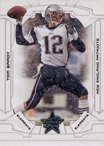 2008 Leaf Rookies and Stars #105 Tom Brady Patriots ELE NFL Football Card (SP - Short Print) NM-MT