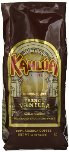(Kahlua Gourmet Ground Coffee, French Vanilla, 12 Ounce )