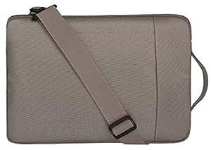 Cartinoe Slim Shoulder Bag for 10.1 Inches Netbook/PC Tablet C6-BR12 Brown