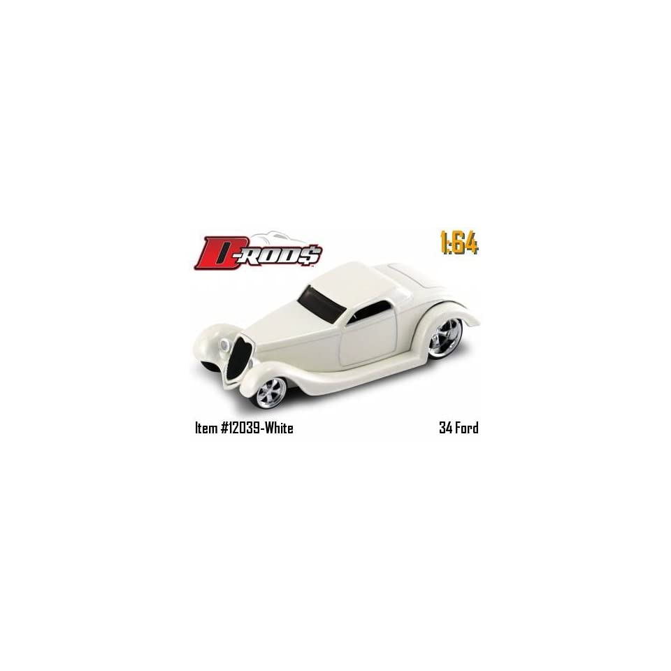 Jada Dub City D Rods White 34 Ford 164 Scale Die Cast Car
