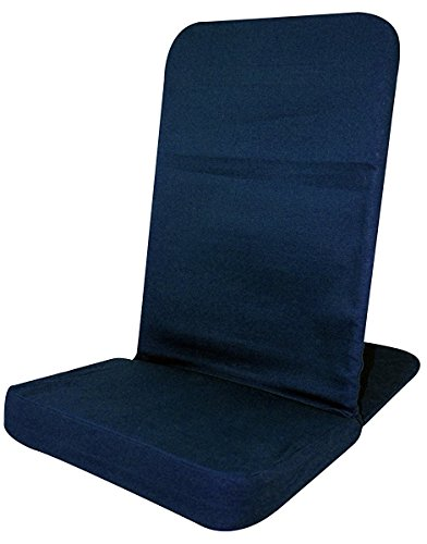 Back jack floor chair folding backjack std size navy for Floor couch amazon