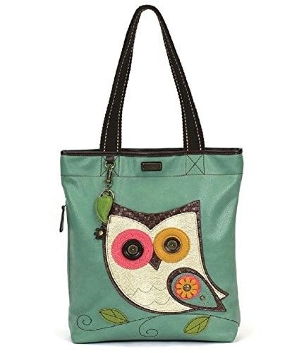 Chala Handbag Everyday Tote (Owl Teal)