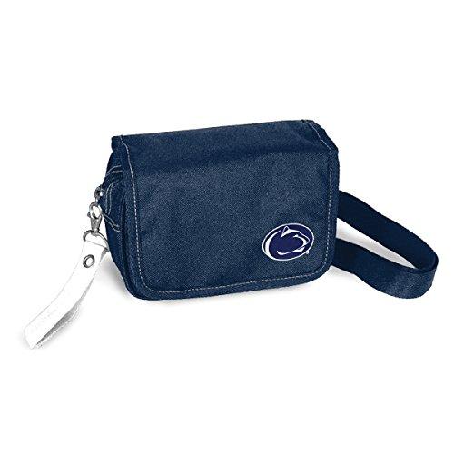 "NCAA Penn State Nittany Lions Ribbon Waist Pack Purse, 7.5"" x 5.5"" x 2.5"", Navy"
