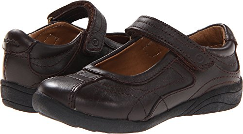 Stride Rite Claire Mary Jane (Toddler/Little Kid/Big Kid),Brown,3 M US Little Kid - Jane Brown Mary Dark