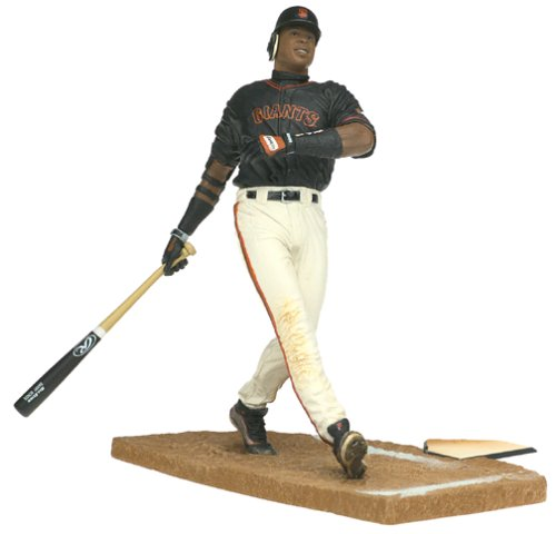 Barry Bonds San Francisco Giants Black Jersey McFarlane MLB Series 2 Action Figure