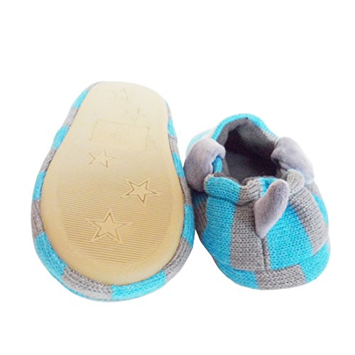 Pictures of Beeliss Toddler Boys Slippers Cartoon Puppy Crochet 2