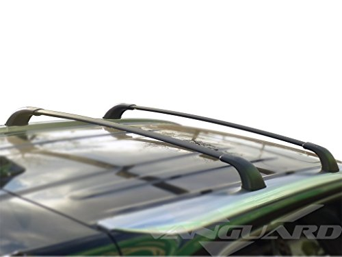 (Vanguard VGRCB-1064BK Compatible with Toyota Highlander(LE 2014-2019 ONLY) Cargo Carrier Roof Top Two Cross Bar(OE Style) )