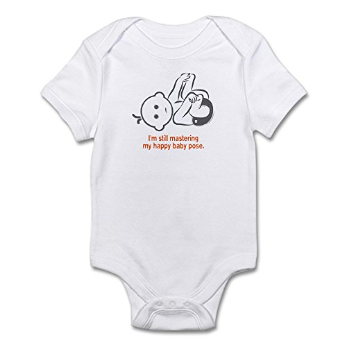 CafePress Infant Bodysuit Orange Romper