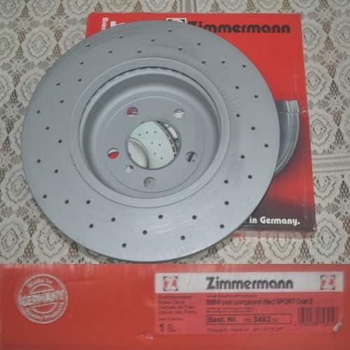 Bremsscheibe Sport Bremsscheibe Coat Z Zimmermann 150 3483 52 Auto