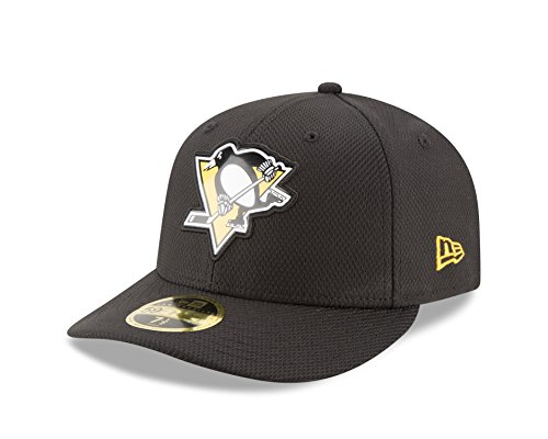 NHL Pittsburgh Penguins Adult Bevel Team Low Profile 59FIFTY Fitted Cap, 7.375, (Nhl New Era Caps)