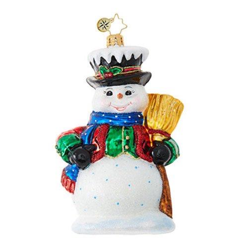 Christopher Radko Dickensian Snowman 5.5