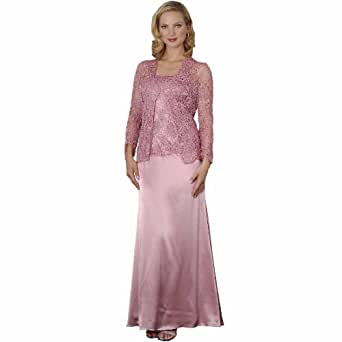 Mother of Bride Groom Evening Dress by Sean Collection (7317) 16, Rose