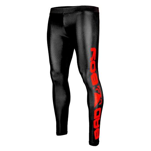 [해외]배드 보이 남성 오리진 스패츠 레깅스 블랙 / 레드/Bad Boy Men`s Origin Spats Leggings Black/Red
