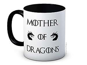 Mother of Dragons - Game Of Thrones - Daenerys Targaryen - Taza de café de alta calidad