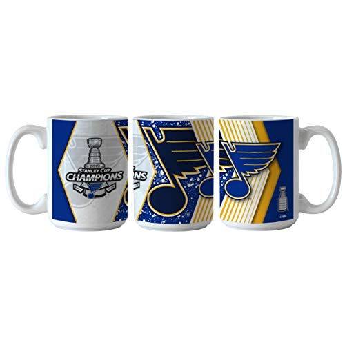 Boelter St. Louis Blues Coffee Mug 15oz Sublimated 2019 Stanley Cup Champs