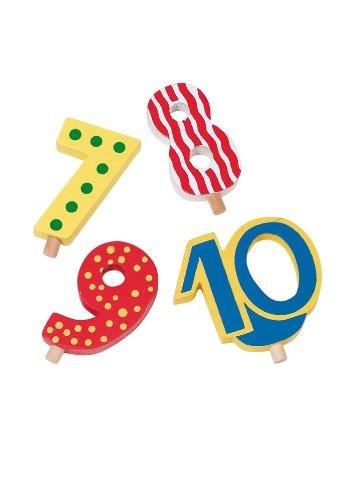 Geburtstagskarawane mit Zahlen
